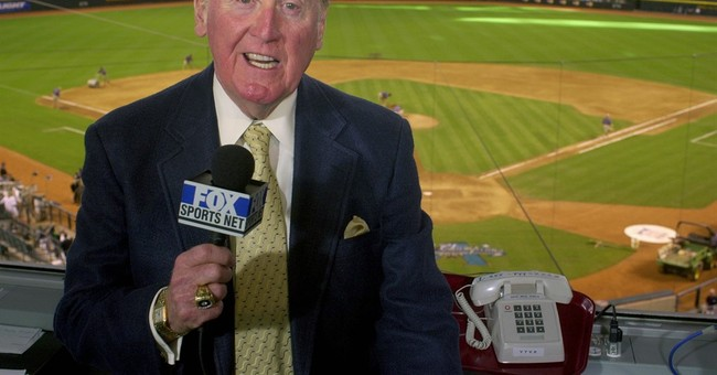 Scully heads into final week behind mic at Dodger Stadium