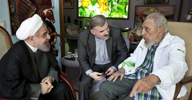 Iran leader meets with Fidel Castro during stop in Havana