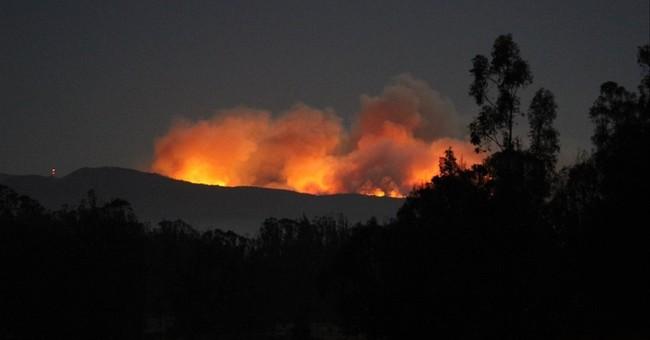 Air Force base wildfire postpones hi-res satellite launch