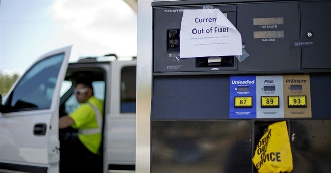 With some gas stations dry, pipeline works to send more fuel