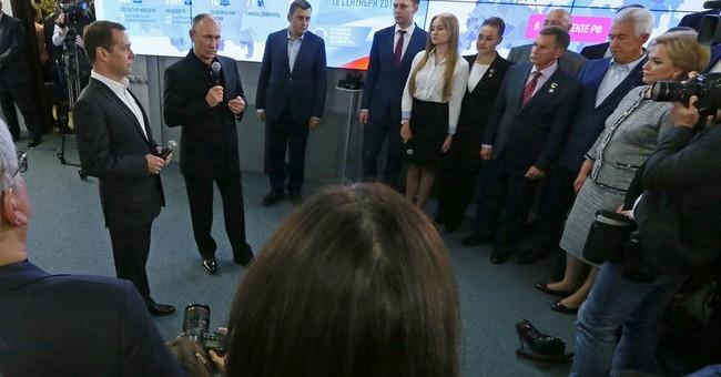 Pro-Kremlin party wins big majority in Russian parliament