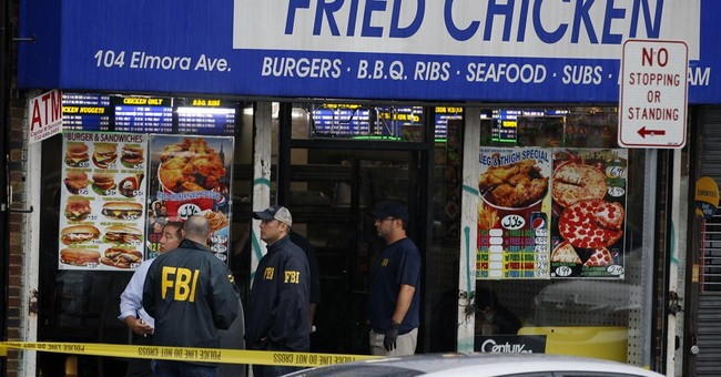 The Latest: Rahami charged with planting bombs in New Jersey