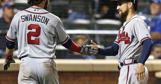 Big daddy: Freeman takes newborn home, homers, gets 4 hits