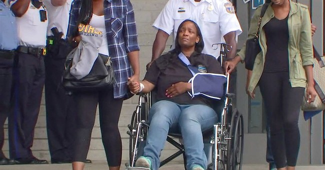 Philadelphia sergeant wounded in rampage leaves hospital