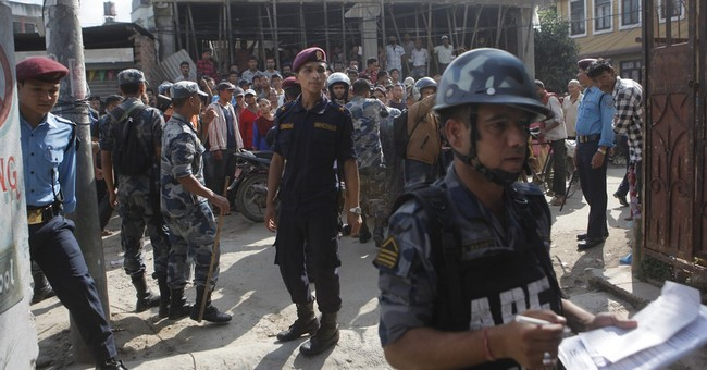 Small bombs go off outside 2 Nepal schools; no injuries