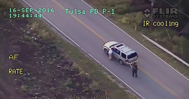 A look at the accounts of the Tulsa police shooting