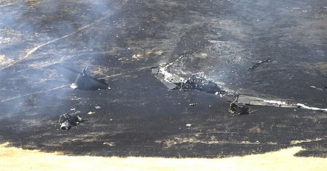Air Force identifies pilot who died in California U-2 crash