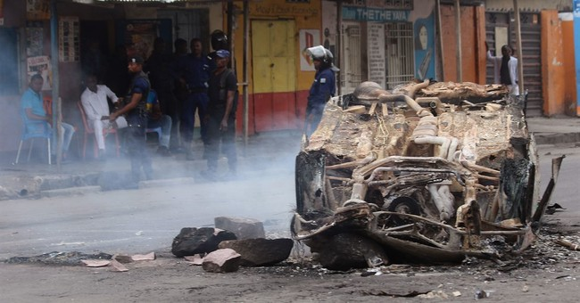 Street clashes, election protests in Congo kill at least 44