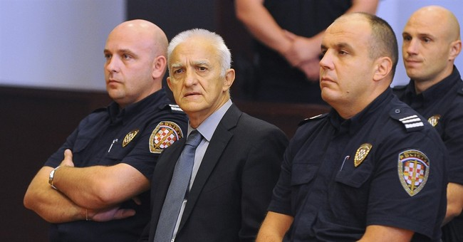 Ex-Serb commander pleads not guilty to war crimes charges
