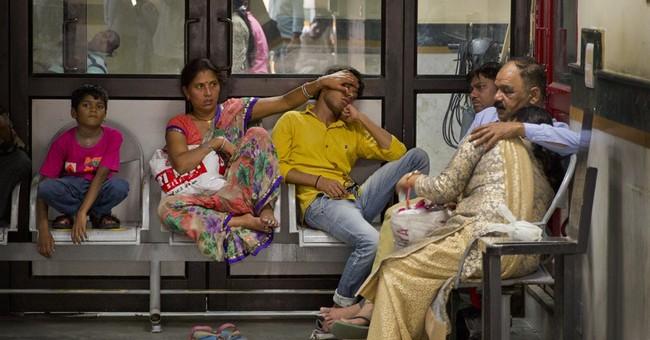 Image of Asia: India's high season of mosquito-borne illness