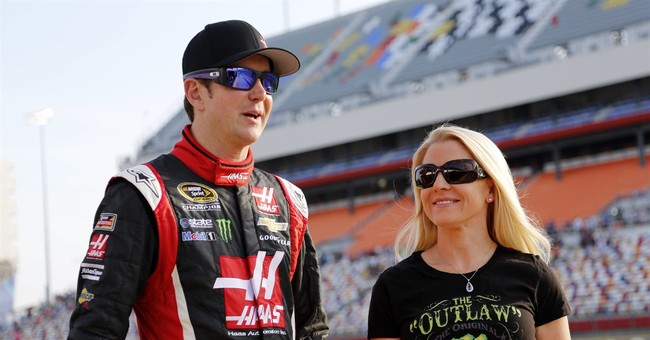 Kurt Busch's ex charged with stealing from military charity