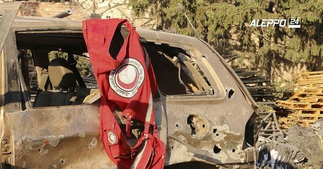 UN suspends Syria aid convoys after 'savage' attack