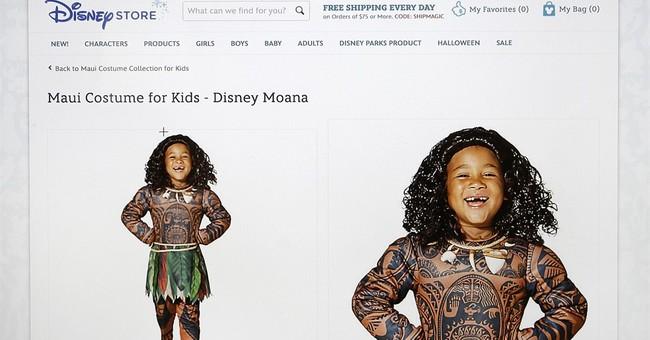 Disney pulls boy's costume critics lambasted as 'Polyface'