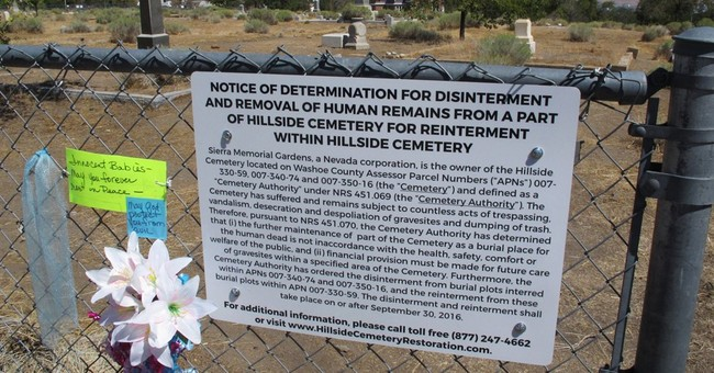 Plan to dig up, move historic Nevada graves angers heirs