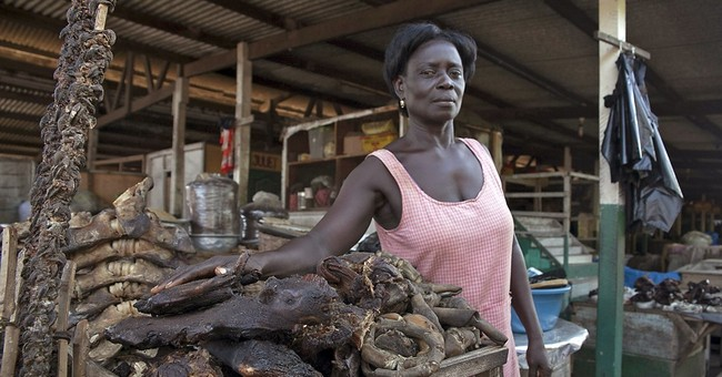 Post-Ebola, West Africans flock back to bushmeat, with risk