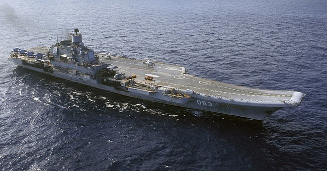 Russia to send its aircraft carrier to eastern Mediterranean