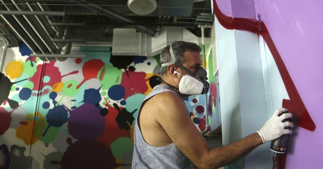 Art with that football? Dolphins' stadium vibrant with color