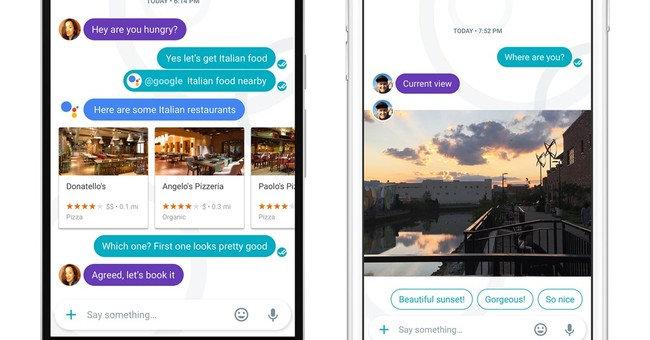 Google's Allo chat app is clever _ just not all that smart