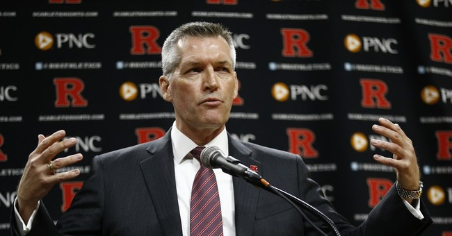 Rutgers athletic director sorry for drinking at rowdy party