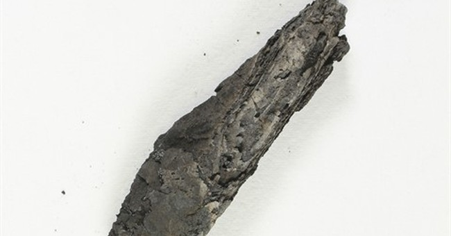 Scanning software deciphers ancient biblical scroll