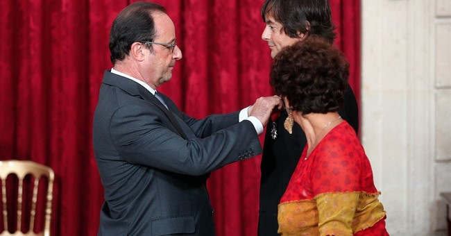 French-American honored for helping thwart 2015 train attack