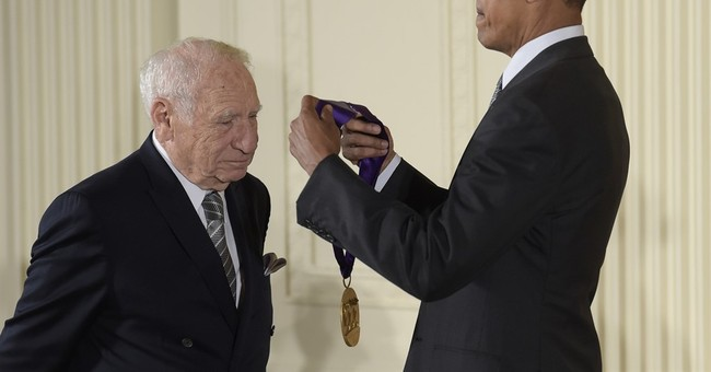 Obama honors Mel Brooks, others in arts and humanities