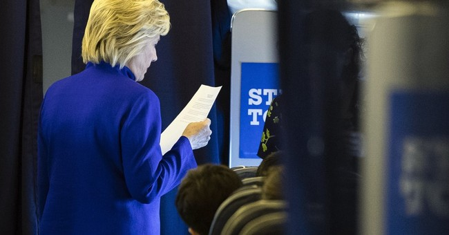 AP-GfK poll shows which candidate voters trust on top issues