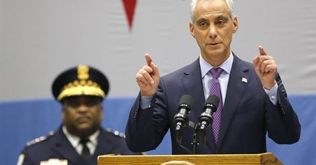 Chicago's mayor details mentoring plans in crime speech
