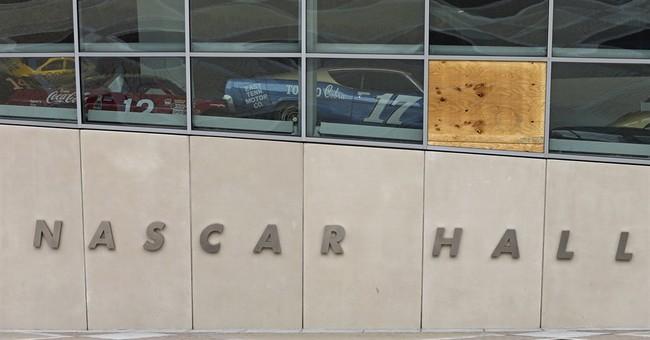 NASCAR Hall of Fame damaged in Charlotte protests