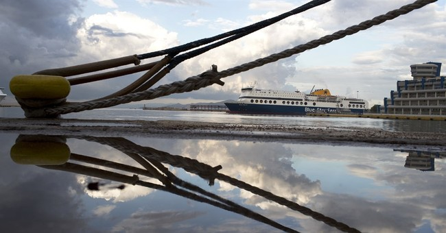 Greek ferries tied up in port for 48-hour seamen's strike