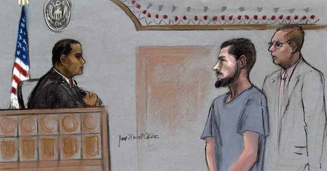 Man guilty in plot for Islamic State group to behead blogger