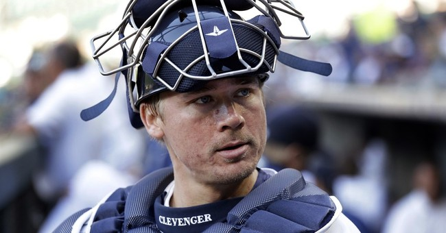 Mariners suspend Clevenger without pay for rest of season