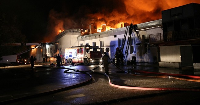 8 Russian firefighters die in Moscow fire