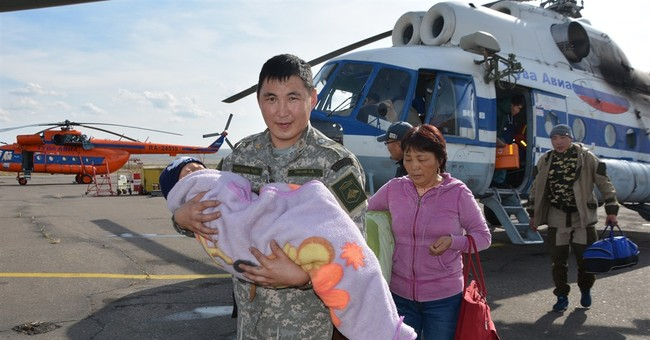 Toddler rescued after spending 72 hours in Siberian woods