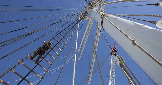 Restored historic ship returning to once-devastated seaport