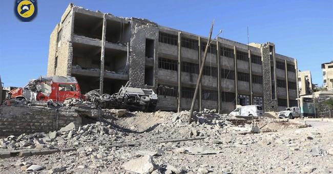 Bombing campaign in Syria kills dozens, demolishes buildings