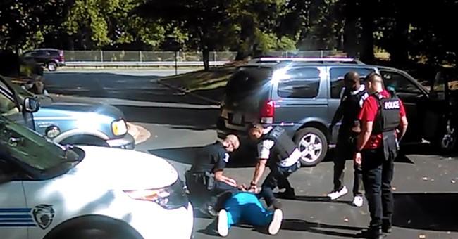 Video shows deadly encounter between police, black man