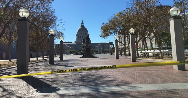 The Latest: Standoff in San Francisco prompts evacuations