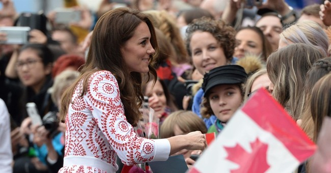 Britain's Prince William, Kate tour Vancouver without kids