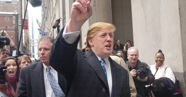 Road to debate: Trump built image as he built business