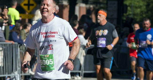 Runners sidelined by bomb blast take to streets of NYC