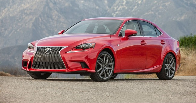 Lexus IS gets its first turbocharged engine for 2016
