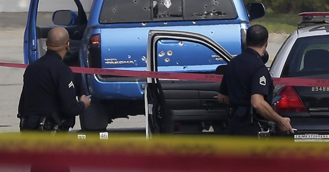 No charges for LA officers in mistaken manhunt shooting