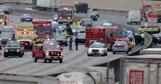 Officials: Georgia trooper shot in Atlanta-area police chase