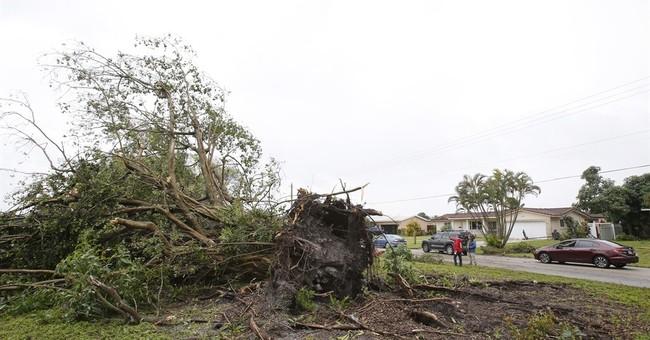 Tornado tosses vehicle along Florida turnpike