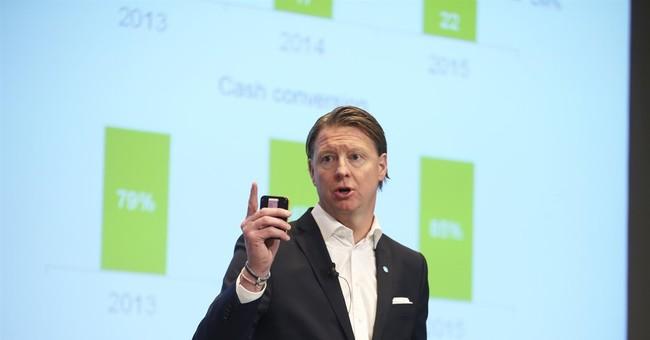 Ericsson Q4 profits, sales surge on growth in China