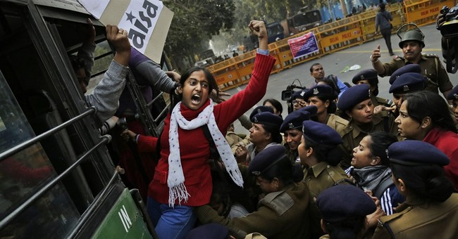Image of Asia: Demanding resignation of Indian minister