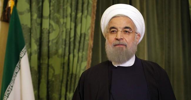 The Latest: Iranian president formally welcomed to France