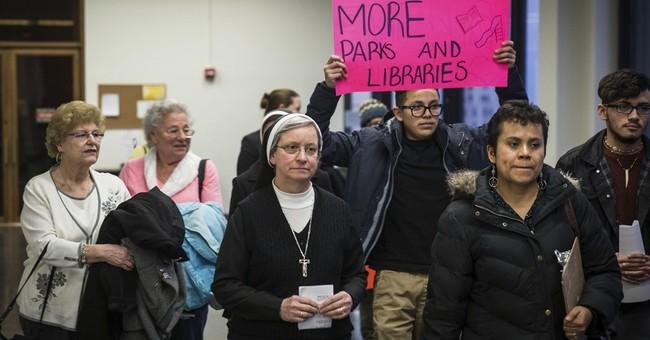 Judge tells nuns to rework lawsuit over strip club neighbor