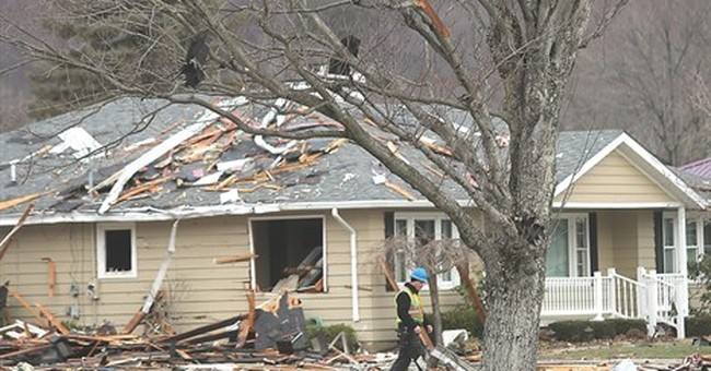 Authorities: 1 man dead in house explosion in eastern Ohio